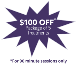 $100 OFF Package of 5 Treatments Image